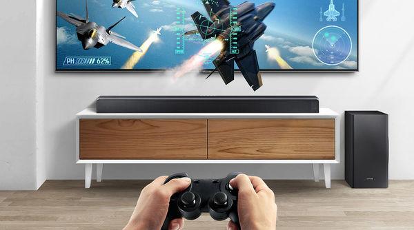 Samsung HW-Q90R  : mode jeux