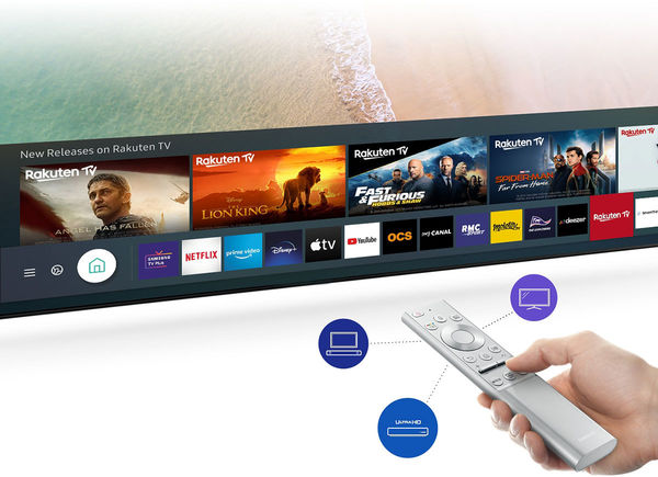 Samsung The Premiere LSP9T : Netflix, Disney+, my Canal