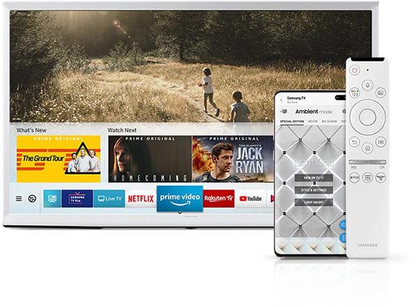 "Samsung Serif QLED 50"" : Smart TV"
