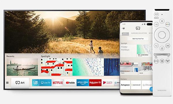 """Samsung The Frame QLED 49"""" : Smart TV"""