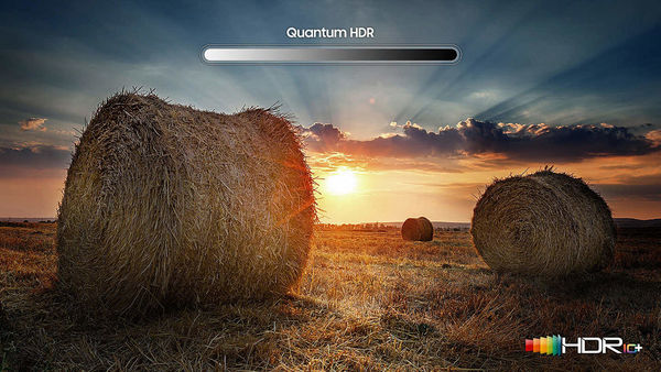 Samsung QE49Q64R : compatible HDR10+