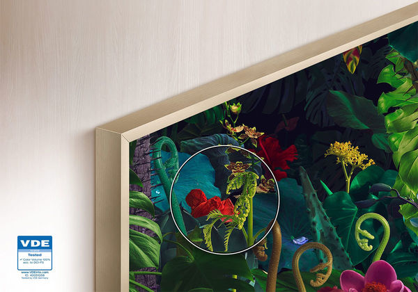 """Samsung The Frame 55"""" QLED 2020 : 100% DCI-P3"""
