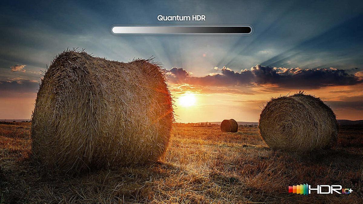 Samsung QE55Q64R : compatible HDR10+