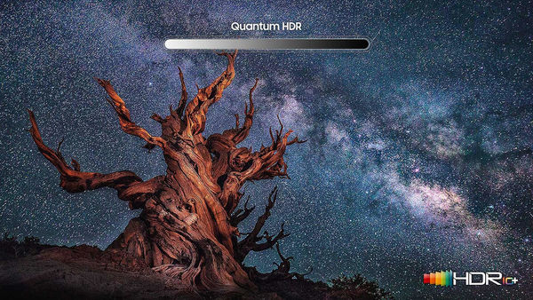 Samsung QE55Q90R : compatible HDR10+