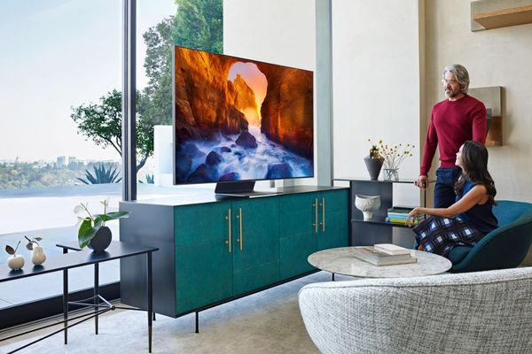 Samsung QE55Q90R : TV LCD QLED