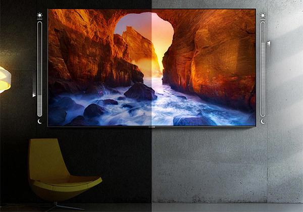Samsung QE75Q85R : mode Intelligent