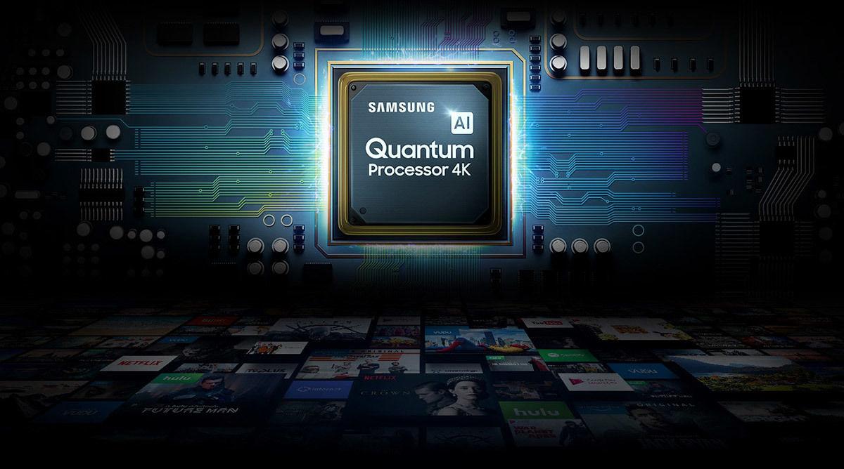 Samsung QE75Q85R : Quantum Processor 4K