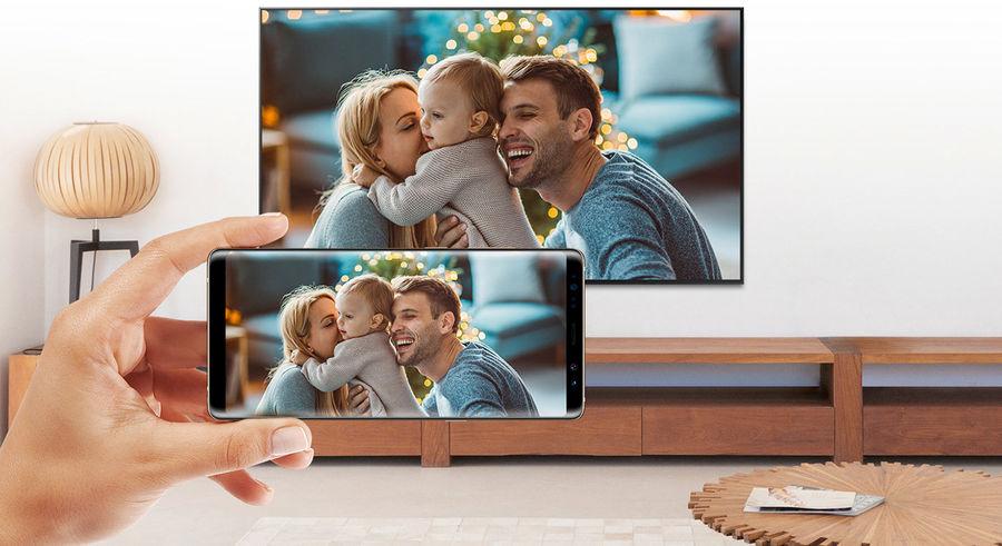 TV Samsung QLED : Screen Mirroring