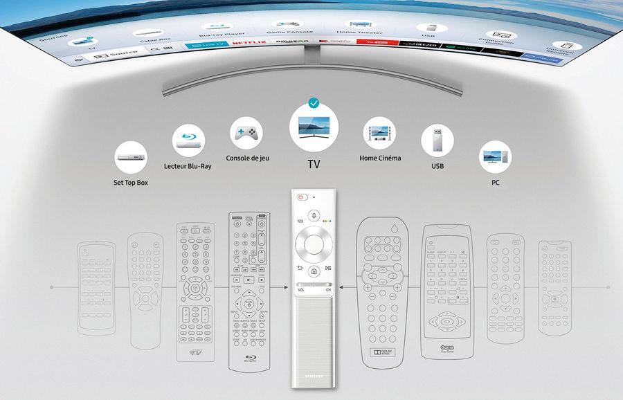 TV Connectées Samsung : télécommande universelle