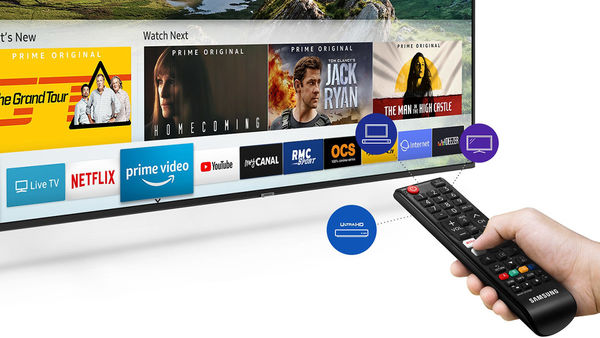 Samsung UE55RU7175 : Netflix, Amazon Prime Video