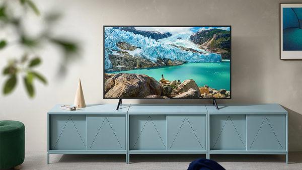 Samsung UE50RU7175 : design sobre, finition soignée