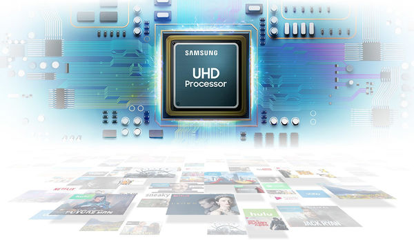 Samsung UE50RU7405 : Samsung UHD Processor