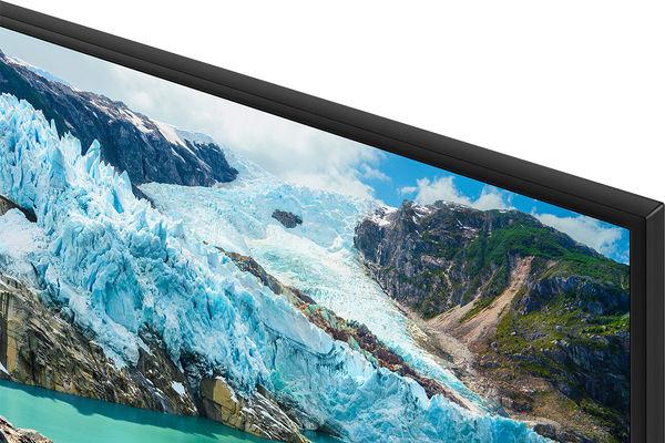 Samsung UE75RU7105 : cadre à bords fins