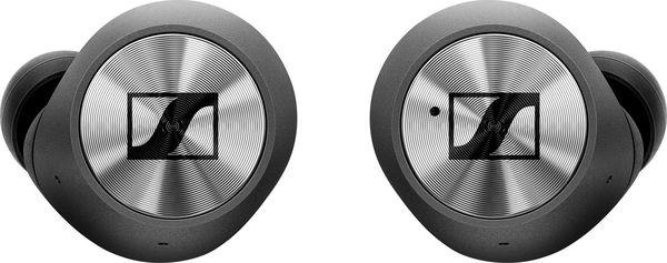 Les écouteurs Sennheiser Momentum True Wireless sont équipés d'une interface de commande tactile.