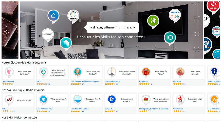 Amazon Alexa - les Skills