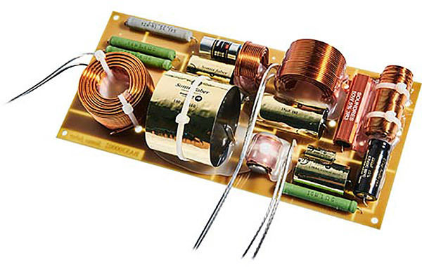 Le filtre de l'enceinteSonus Faber Olympica Nova II adopte des composants audiophiles
