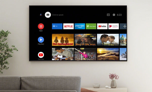 Sony KD-55A8 : smart TV Android