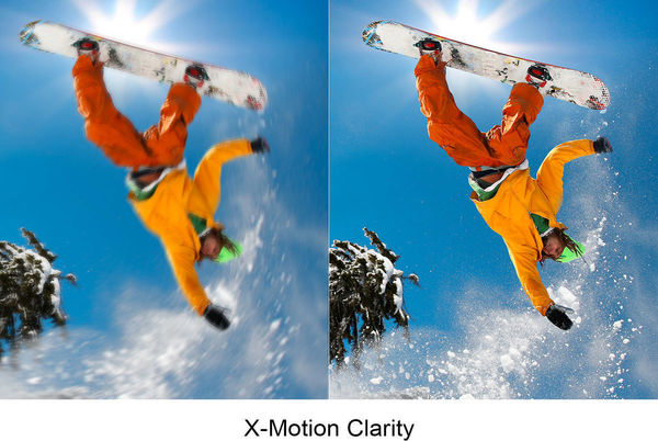 Sony KD-55A8 : X-Motion Clarity