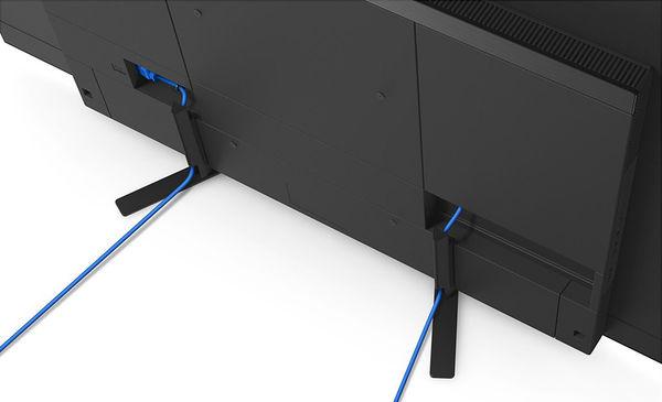 Sony KD-65AG8 : gestion des câbles