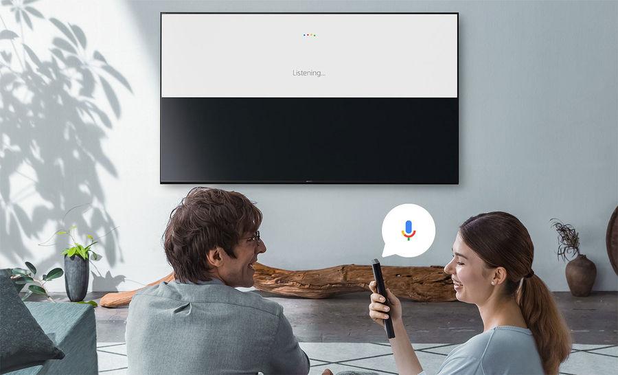 TV connectée Sony sous Android TV avec Google Assistant
