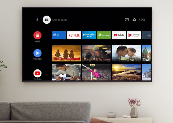 Sony KD-85XH9096 : Android TV