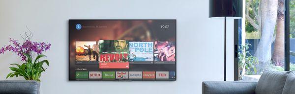 Sony KD-85XG8596: Android TV