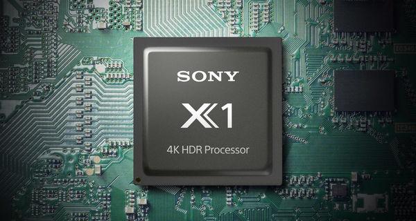Sony KD-85XG8596: video procesor Sony 4K HDR procesor X1