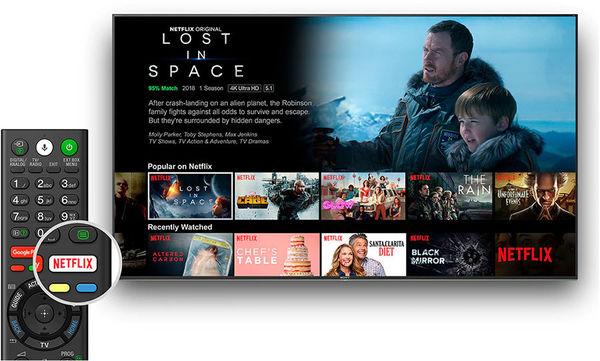 Sony KD-55XH9505 : Netflix