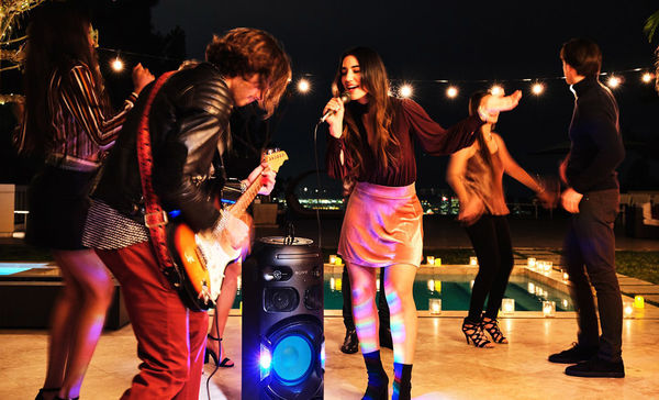 Sony MHC-V42D : mode karaoké
