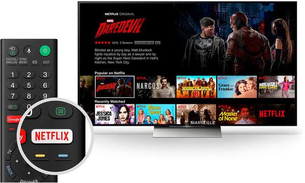 Sony UBP-X1100ES : accès direct à Netflix
