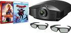 VPL-HW65ES Noir + 3D Glasses Lite RF X105 + Blu-ray Captain Marvel + Spider-Man : new gen
