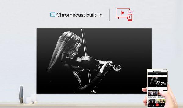 TCL 55C815: Integrated Chromecast