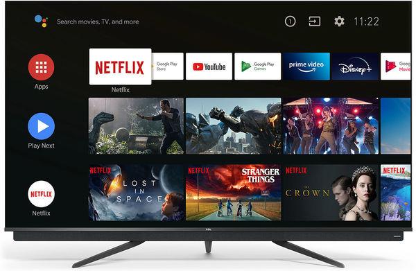 TCL 55C815 TV adopts Android TV 9 operating system
