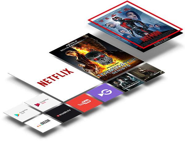 TCL U75C7006 : Netflix 4K HDR