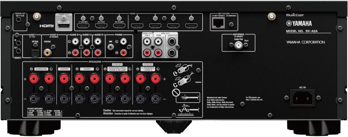 Amplificateur home-cinéma Yamaha RX-A2A