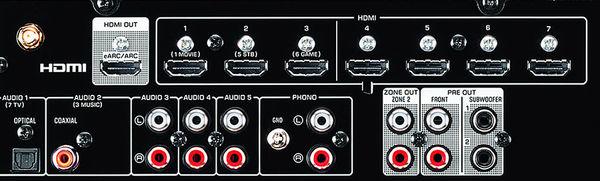 Yamaha RX-V6A : HDMI 4K/120 & 8K/60