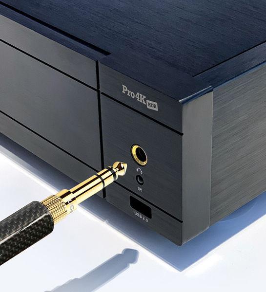 Zappiti Pro 4K HDR : sortie casque audiophile