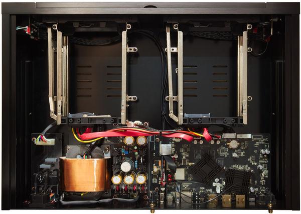 Zappiti Pro 4K HDR : vue intérieure