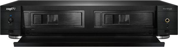 Zappiti Pro 4K HDR : double baie pour disques durs