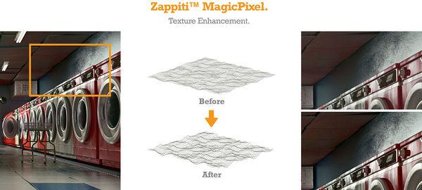 Zappiti Pro 4K HDR : MagicPixel v2.5