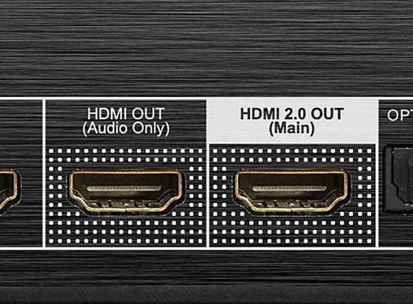 Le lecteur réseau AV Zappiti Pro 4K HDR possède deux sorties HDMI
