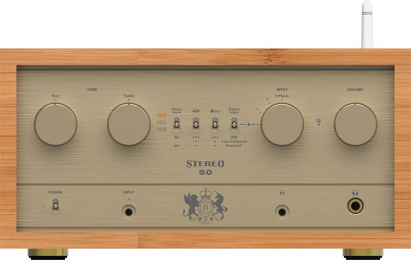 L'ampli-DAC iFi Audio Retro 50.