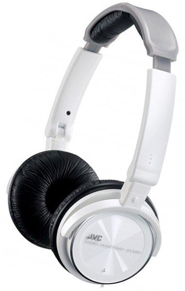 Jvc Ha S360 Blanc Casques Hi Fi Sur Son Vidéocom