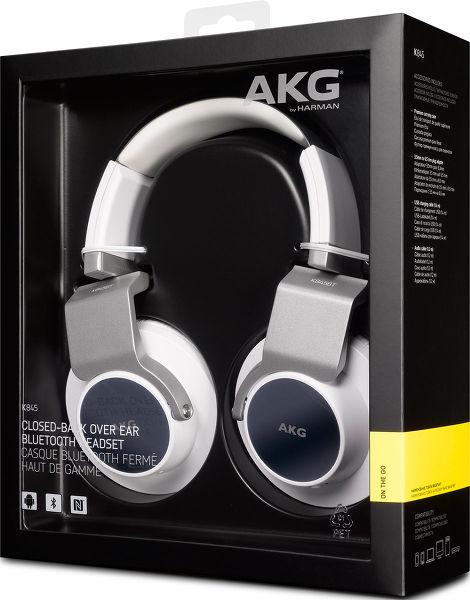 AKG K845BT Blanc - Casques sans fil sur Son-
