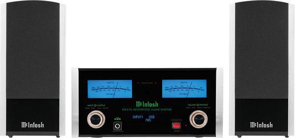 La chaîne hi-fi compacte McIntosh MXA70