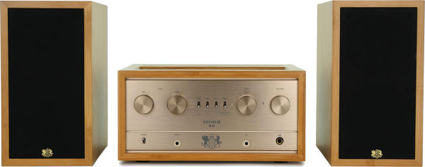 L'amplificateur iFi Audio Retro 50 et les enceintes compactes iFi Audio LS3.5.