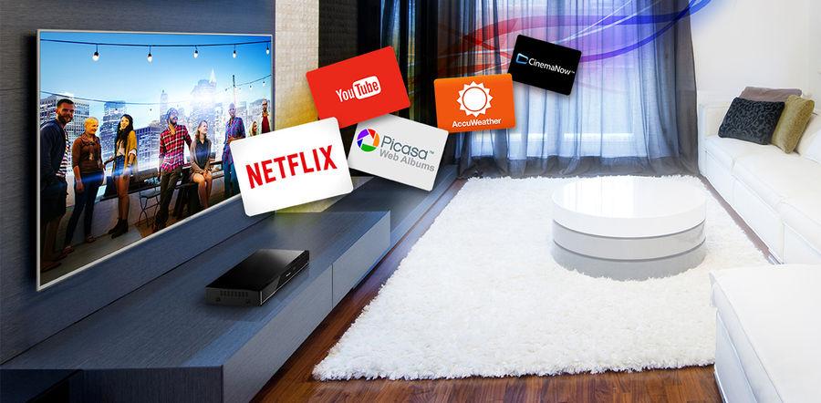 Enregistreur vidéo avec fonction streaming, Netflix, Youtube