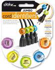 Dotz OfficeJumbo Cord Identifiers