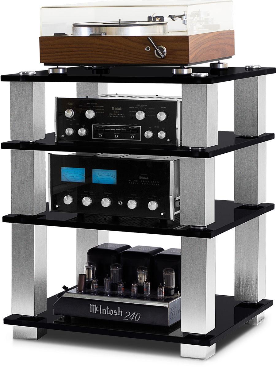Meuble Hi Fi Pour Elements Separes Ampli Cd Platine Vinyle