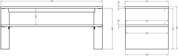 NorStone Vinkel dimensions